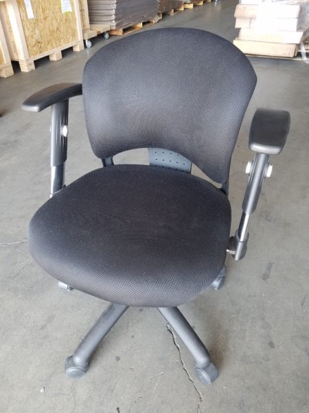 Black Mid Back Task Chair Mover Services Inc